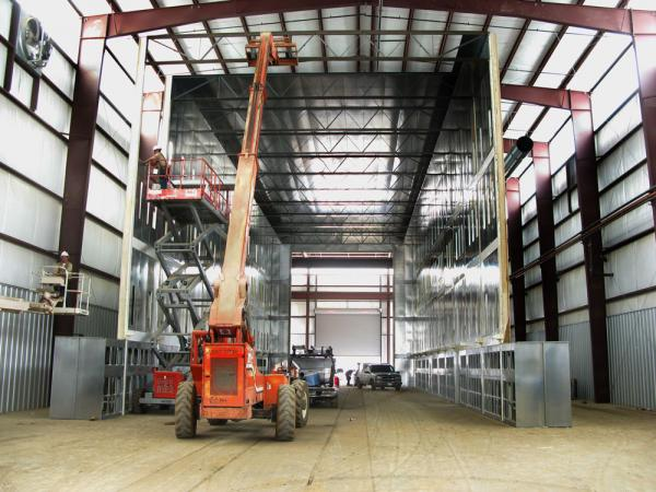 Racine Custom Industrial Paint Booths - Il.